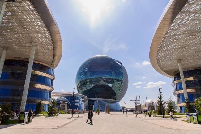 Комплекс Экспо-2017 в Астане. Фото © «Астана ЭКСПО-2017»