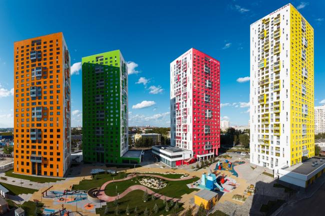 ЖК «Малевич» © Архитектурное Бюро ОСА