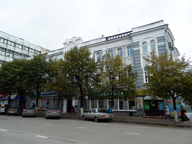 Доходный дом Зеленковой. Фото: Тара-Амингу  via Wikimedia Commons. Фото находится в общем доступе