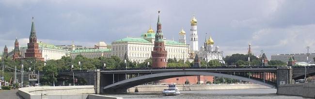 Большой Каменный мост в Москве. Фото: Ikar.us (talk) via Wikimedia Commons. Лицензия CC BY-SA 3.0
