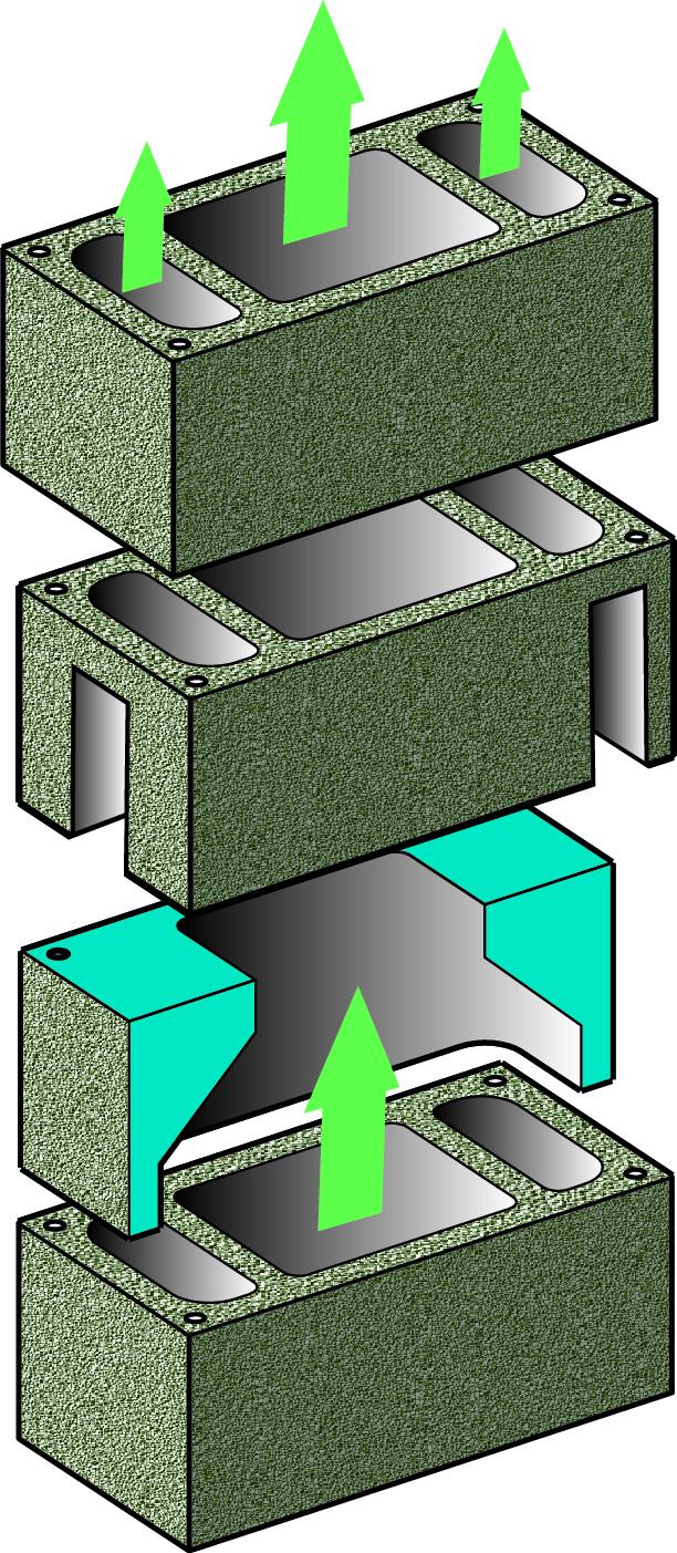 Блок Schiedel CVENT. Компания Schiedel