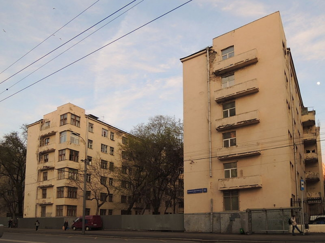 Общежитие института Красной профессуры. Фото: Shakko via Wikimedia Commons. Лицензия CC BY-SA 4.0