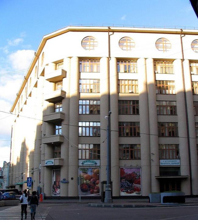 Дом общества «Динамо». Фото: Andres rus via Wikimedia Commons. Лицензия CC BY 3.0
