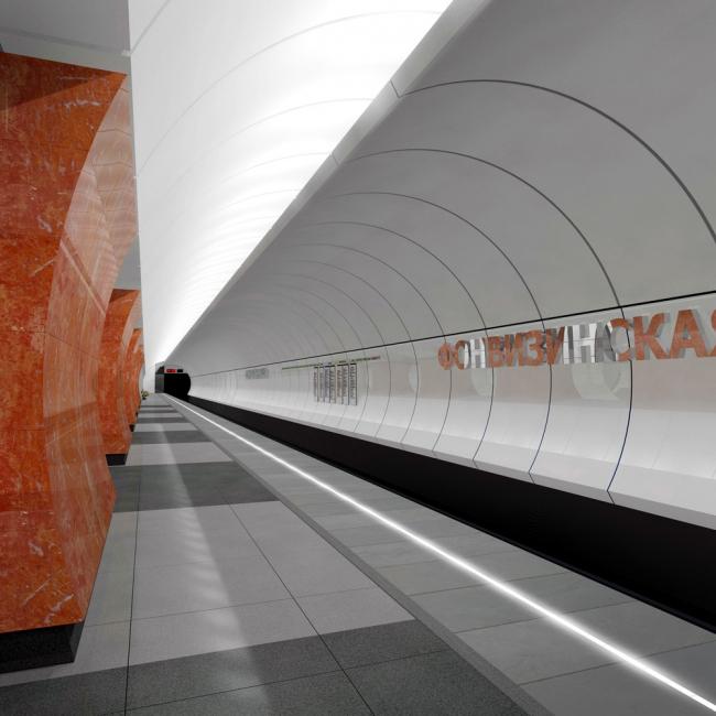 Продление Люблинско-Дмитровской линии московского метрополитена © Метрогипротранс
