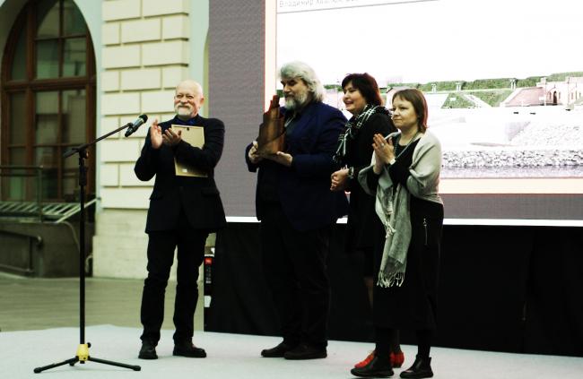 Вручение премии «Татлин» проектной группе «Риедер». Фотография © Алла Павликова