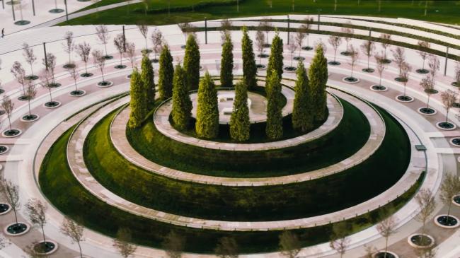 Парк в Краснодаре ©  gmp