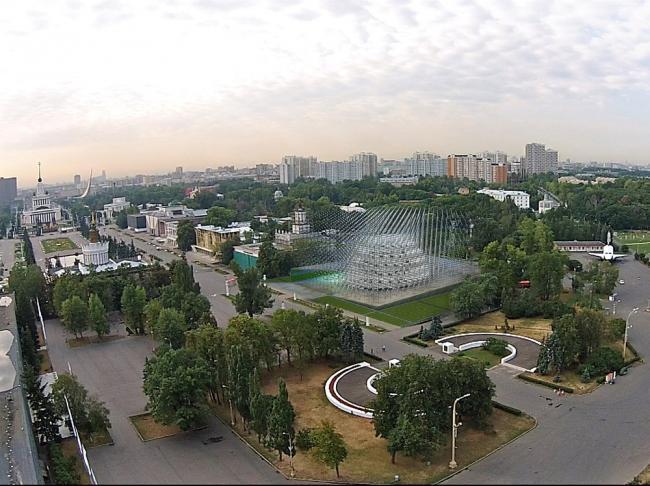 Павильон атомной энергии «Реактор» © бюро Archstruktura