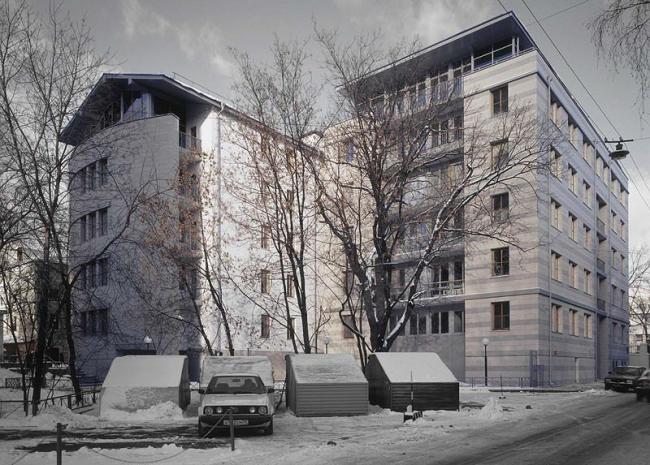 Жилой дом в Зубовском пр. (проектирование 1997-99 гг.)
