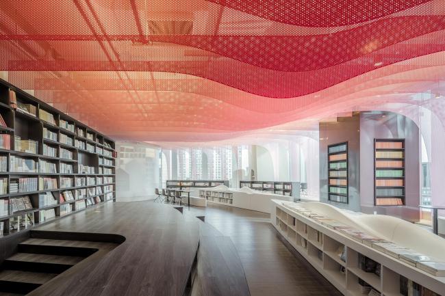 Книжный магазин «Чжуншу». Фото © CreatAR (Ai Qing, Mao Yingchen, Shi Kaichen)