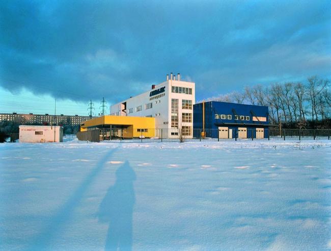 Станция технического обслуживания автомобилей Subaru (проектирование 1998-99 гг.)