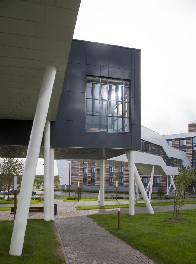 Студенческий кампус – Иннополис © архитекторы Тимур Степанов, Михаил Капитонов
