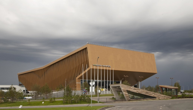 Университет инновационного центра «Иннополис» © архитекторы Антон Цыбисов, Яна Самакаева