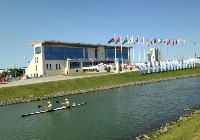 Центр гребных видов спорта на озере Средний Кабан. Фотография © Николай Новиков