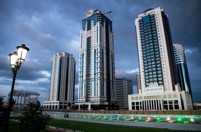 Грозный-Сити © архитектор Джалал Кадиев