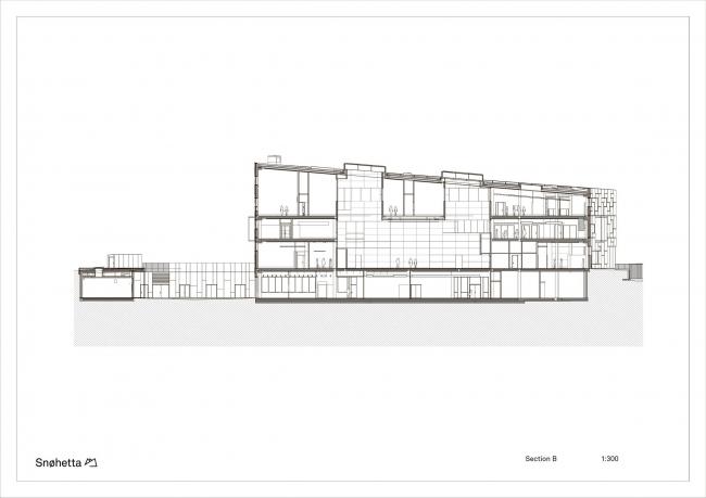 Факультет изящных искусств, музыки и дизайна Бергенского университета © Snøhetta