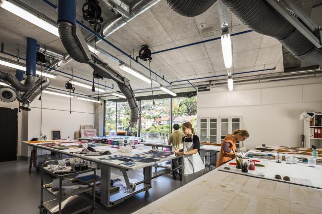 Факультет изящных искусств, музыки и дизайна Бергенского университета © Tomasz Majewski Photography
