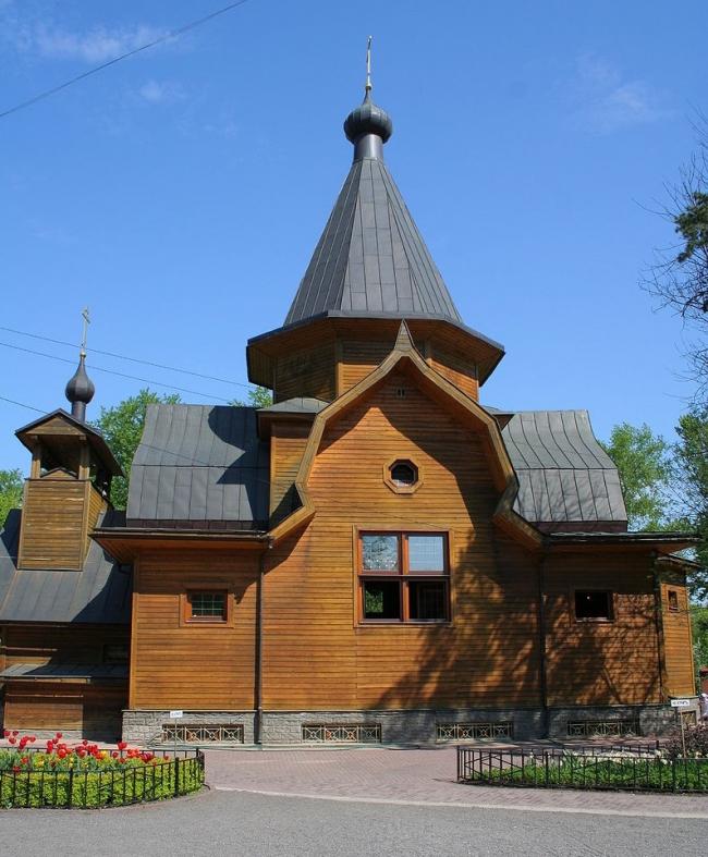 Церковь святителя Николая у Соломенной сторожки. Фото: A.Savin via Wikimedia Commons. Лицензия CC BY-SA 3.0
