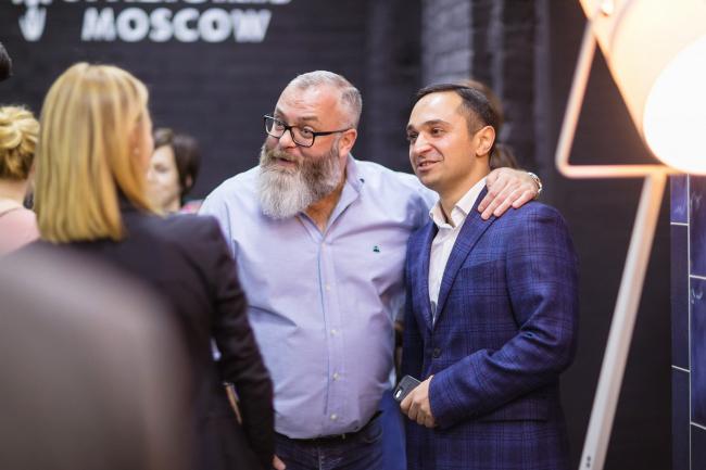 Открытие шоу-рума SPAZIOIRIS MOSCOW. Фотография © SPAZIOIRIS MOSCOW