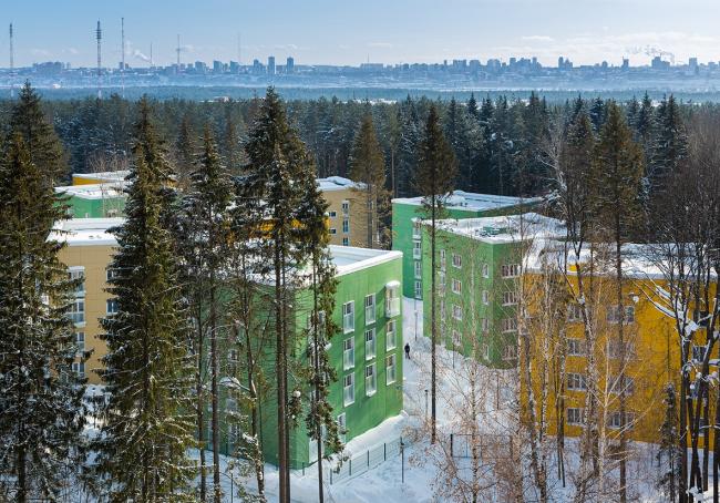 Кампус для студентов и преподавателей «Кампус в лесу» © Бюро ANTON BARKLYANSKI