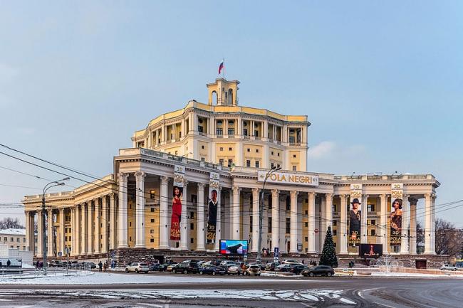 Театр Российской армии. Фото: Alex ′Florstein′ Fedorov via Wikimedia Commons. Лицензия CC BY-SA 4.0