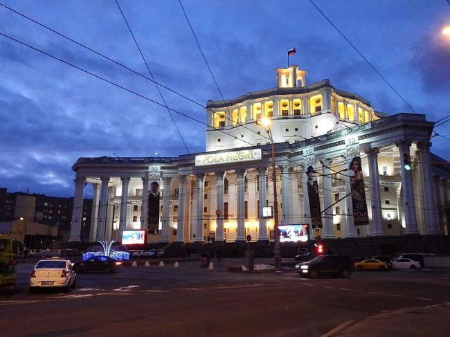 Театр Российской армии. Фото: Professor Caretaker via Wikimedia Commons. Лицензия CC BY-SA 4.0