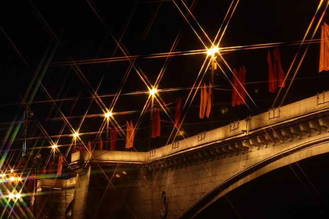 Большой Москворецкий мост. Фото: Екатерина Арутюнова via Wikimedia Commons. Лицензия CC-BY-SA-4.0