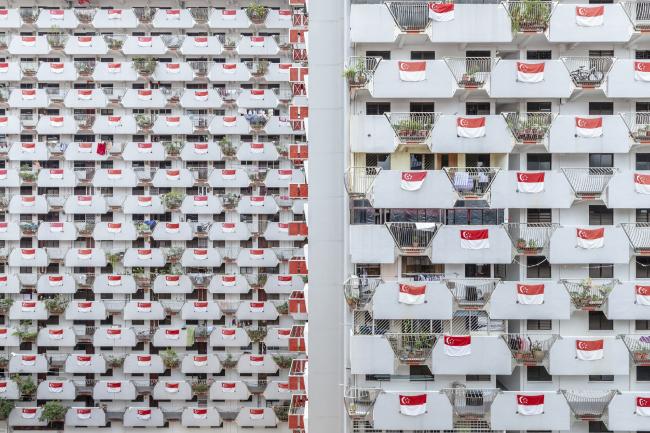 Категория «Здания в действии», автор: Siyuan Ma. Социальный дом Selegie House в Сингапуре. Проектировщики: Housing and Development Board ( HDB)