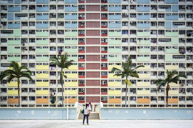 Категория «Чувство места», автор: Fabio Mantovani. Социальный дом Choi Hung Estate в Гонконге