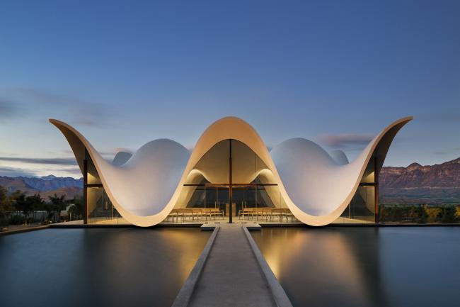 Категория «Внешний вид», автор: Adam Letch. Часовня Бошьес (ЮАР). Архитекторы: Steyn Studio