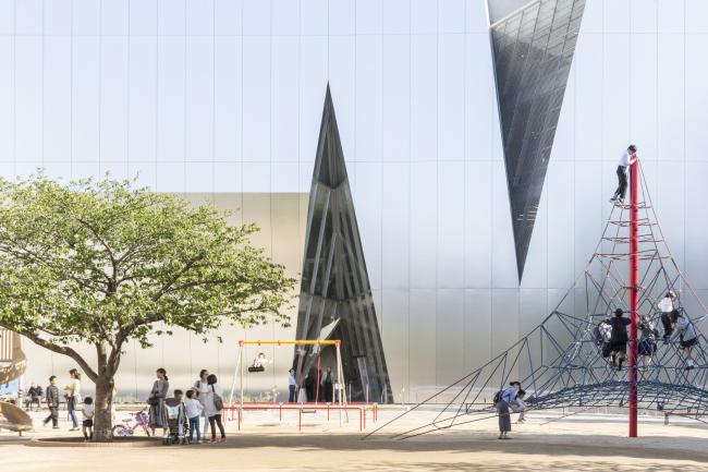 Категория «Внешний вид», автор: Laurian Ghinitoiu. Музея Сумида Хокусая в Токио (Япония). Архитектор: Kazuyo Sejima