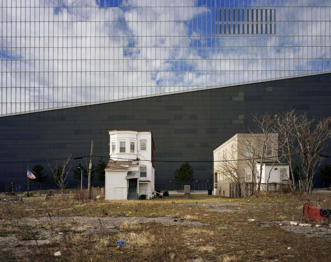 Категория «Внешний вид», автор: Brian Rose. Северная стена отеля-казино Revel (Атлантик-Сити, США)