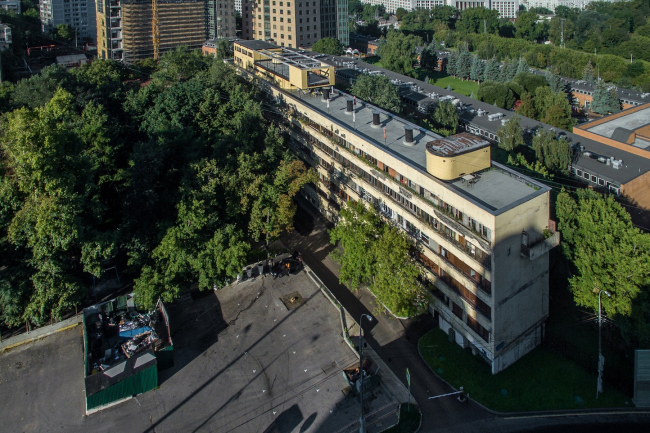 Дом-коммуна Наркомфина. Фото © Денис Есаков