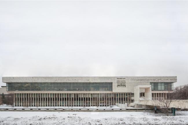 Здание ИНИОН на Профсоюзной. Фото © Денис Есаков