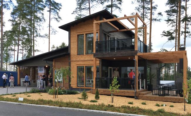Жилищная ярмарка  Asuntomessut  в Миккели, Финляндия. Фотография © Good Wood