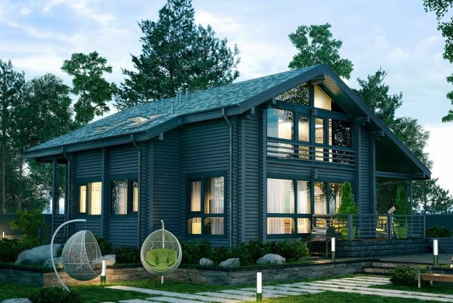 Дом серии СП-265 © Good Wood