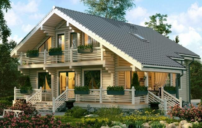 Дом серии СП-250 © Good Wood