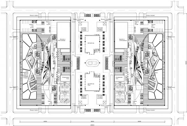 Проект многофункционального жилого квартала. Авторы: Б-Групп