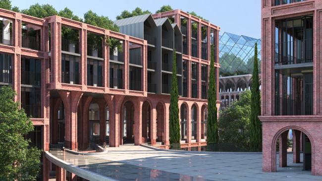 Проект многофункционального жилого квартала. Авторы: MASS[SHTAB]