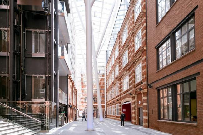 Культурно-деловой комплекс «Большевик» по проекту John McAslan+Partners. Источник: officenext.ru