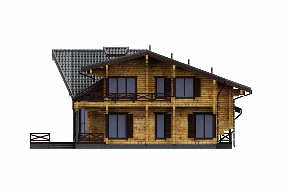 Дом в Завидове. Фасады. Изображение с сайта gwd.ru