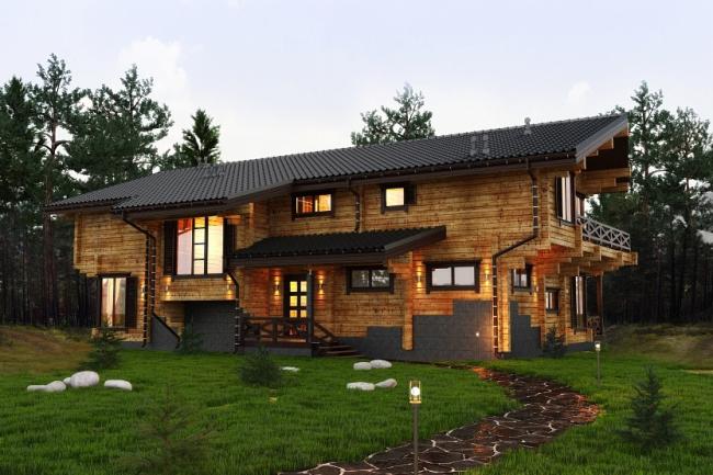 Дом в Завидове. Изображение с сайта gwd.ru