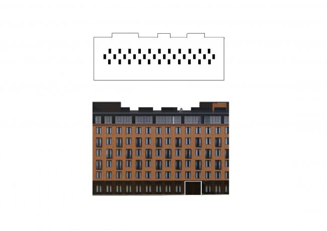 Комплекс апартаментов «Большевик» © IND Architects