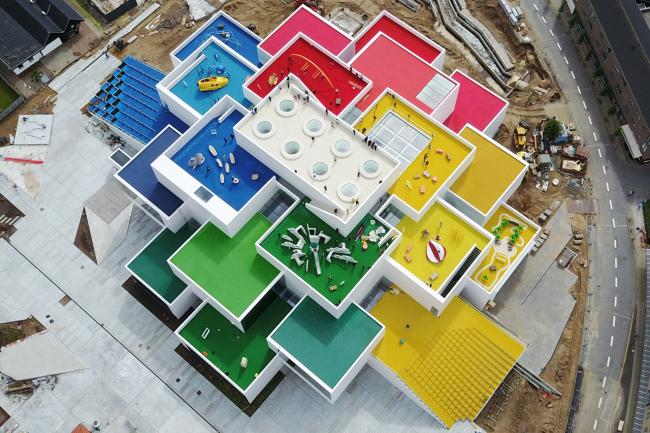 LEGO House, Биллунн, Дания. Проект бюро BIG