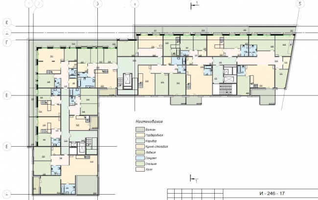 Plan of the mansard floor © Anatoly Stolyarchuk architects, 2017