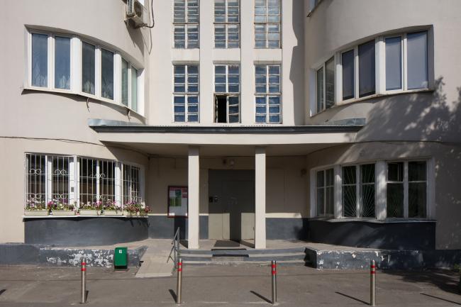 Дом «Обрабстроя». Фотография © Ольга Алексеенко
