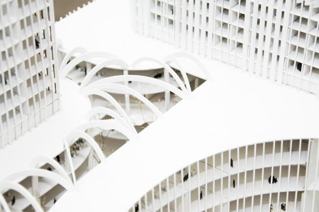 Концепция развития станции МЦК «Владыкино». Макет. Автор: Надежда Матвеева