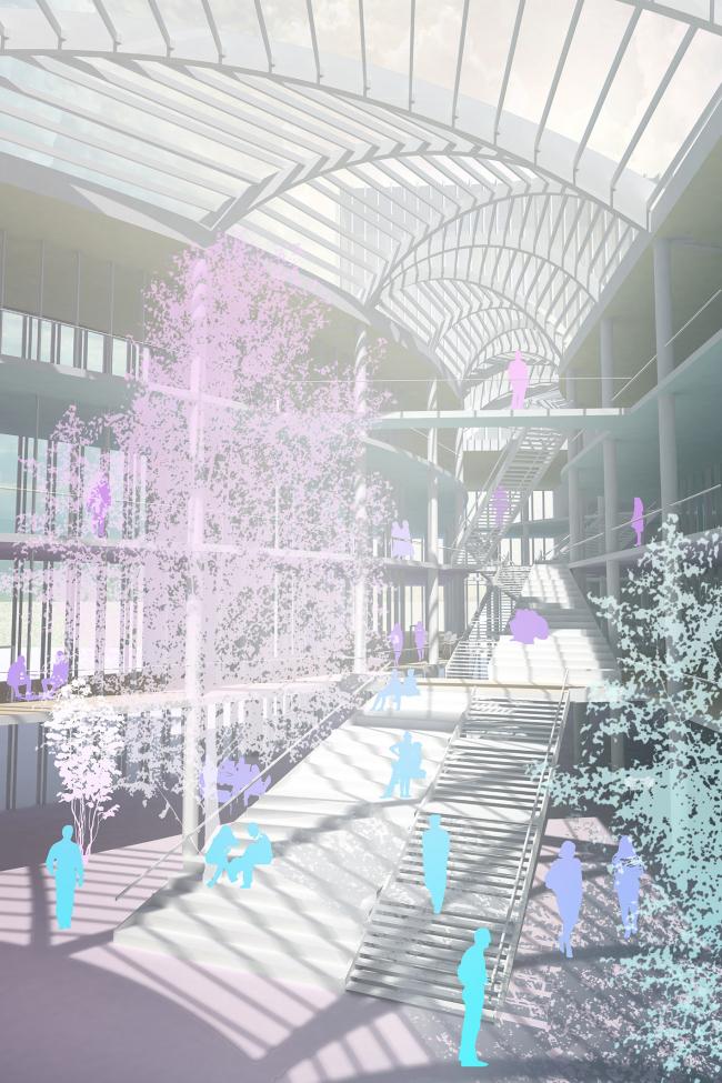 Концепция развития станции МЦК «Владыкино». Автор: Надежда Матвеева