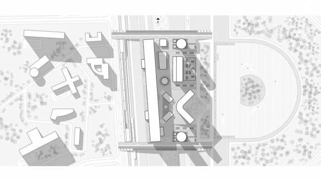 Концепция развития станции МЦК «Соколиная гора». Автор: Артем Тертерян