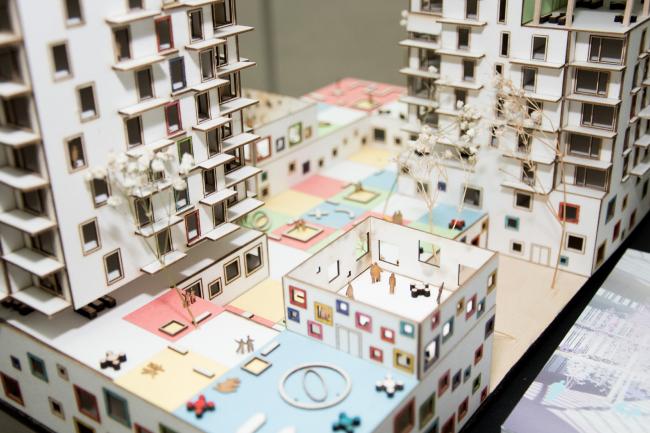 Концепция развития станции МЦК «Балтийская». Макет. Автор: Асель Равилова