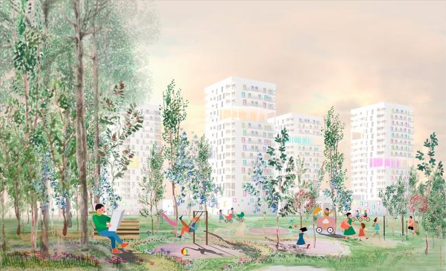 Концепция развития станции МЦК «Балтийская». Автор: Асель Равилова